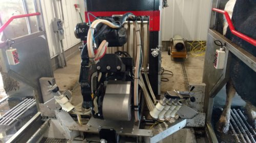Milking Robot B&R Dairy Equipment